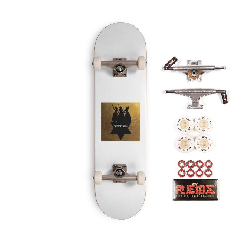 OLUF Hamilton Logo Accessories Complete - Pro Skateboard by SteampunkEngineer's Shop