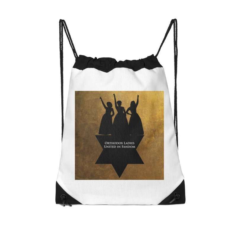 OLUF Hamilton Logo Accessories Drawstring Bag Bag by SteampunkEngineer's Shop