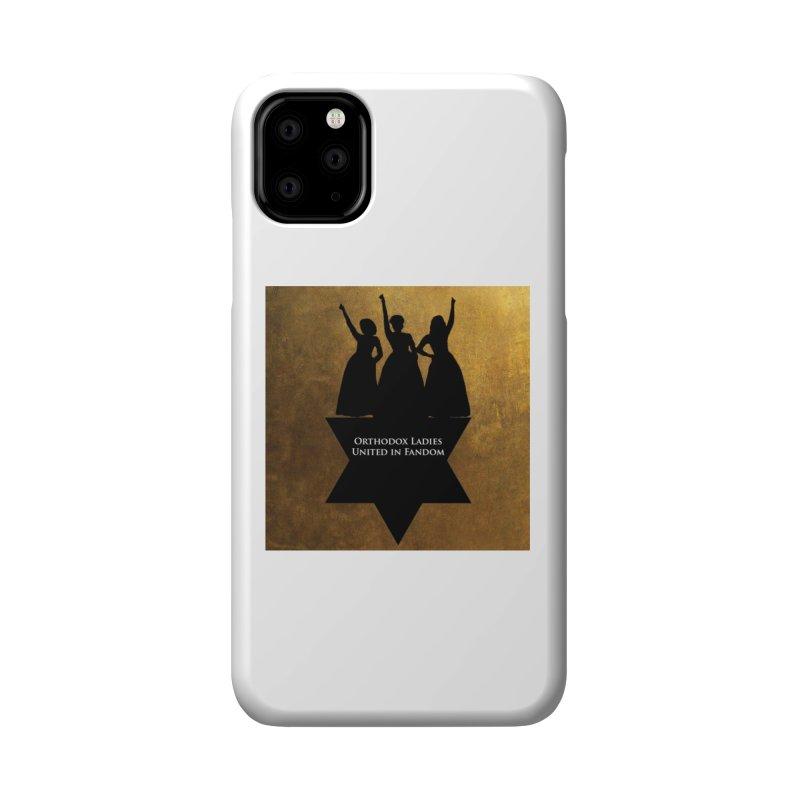 OLUF Hamilton Logo Accessories Phone Case by SteampunkEngineer's Shop