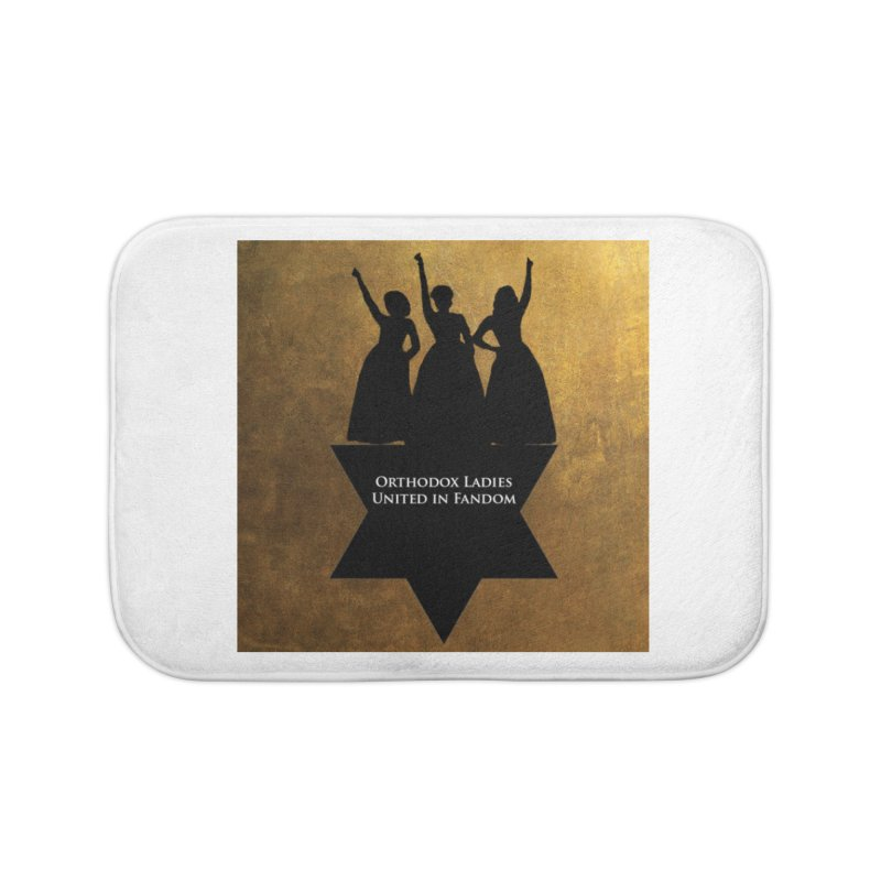 OLUF Hamilton Logo Home Bath Mat by SteampunkEngineer's Shop