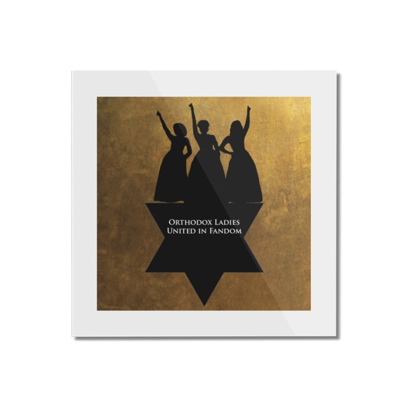 OLUF Hamilton Logo Home Mounted Acrylic Print by SteampunkEngineer's Shop