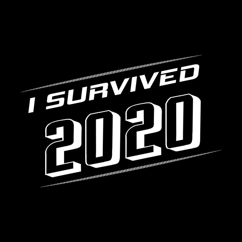 I survived 2020 - White Men's Pullover Hoody by SteampunkEngineer's Shop