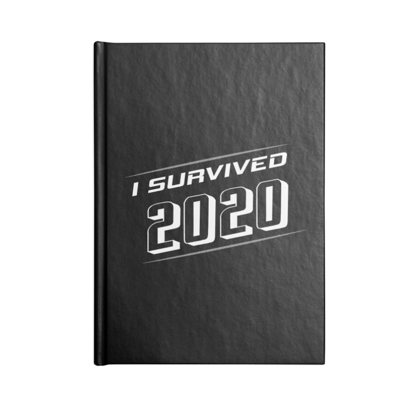 I survived 2020 - White Accessories Notebook by SteampunkEngineer's Shop