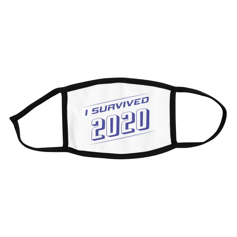 I survived 2020 - Blue Accessories Face Mask by SteampunkEngineer's Shop