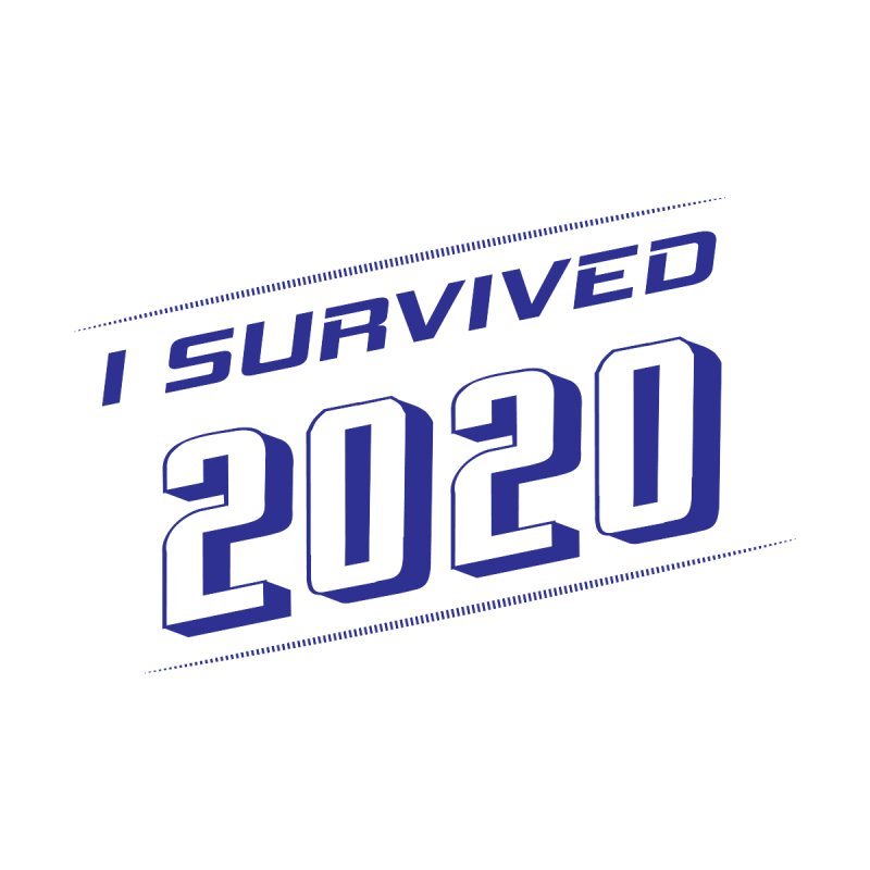 I survived 2020 - Blue Men's Pullover Hoody by SteampunkEngineer's Shop