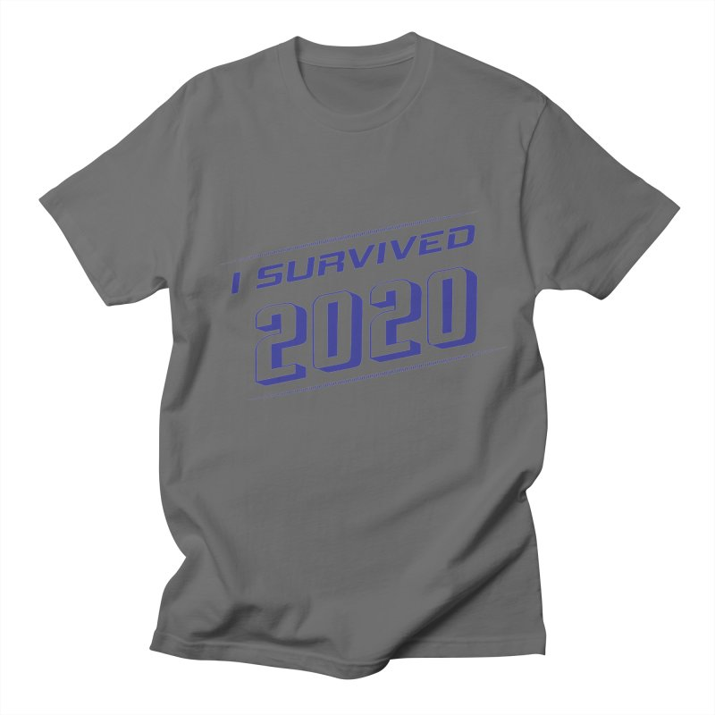 I survived 2020 - Blue Men's T-Shirt by SteampunkEngineer's Shop