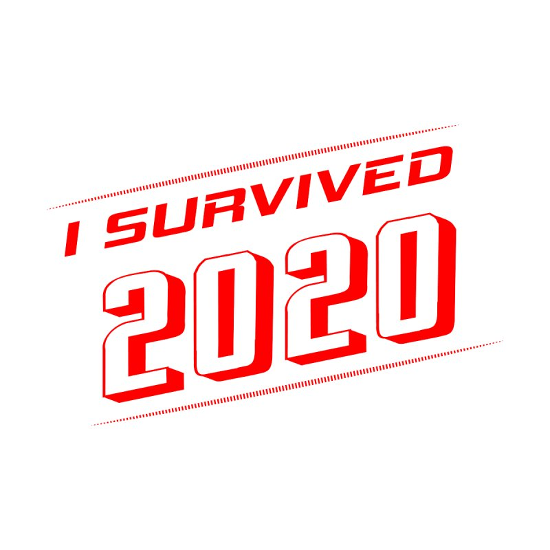 I survived 2020 - Red Men's Sweatshirt by SteampunkEngineer's Shop