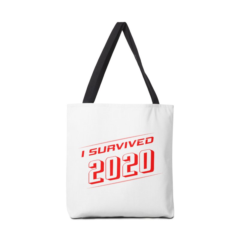 I survived 2020 - Red Accessories Bag by SteampunkEngineer's Shop