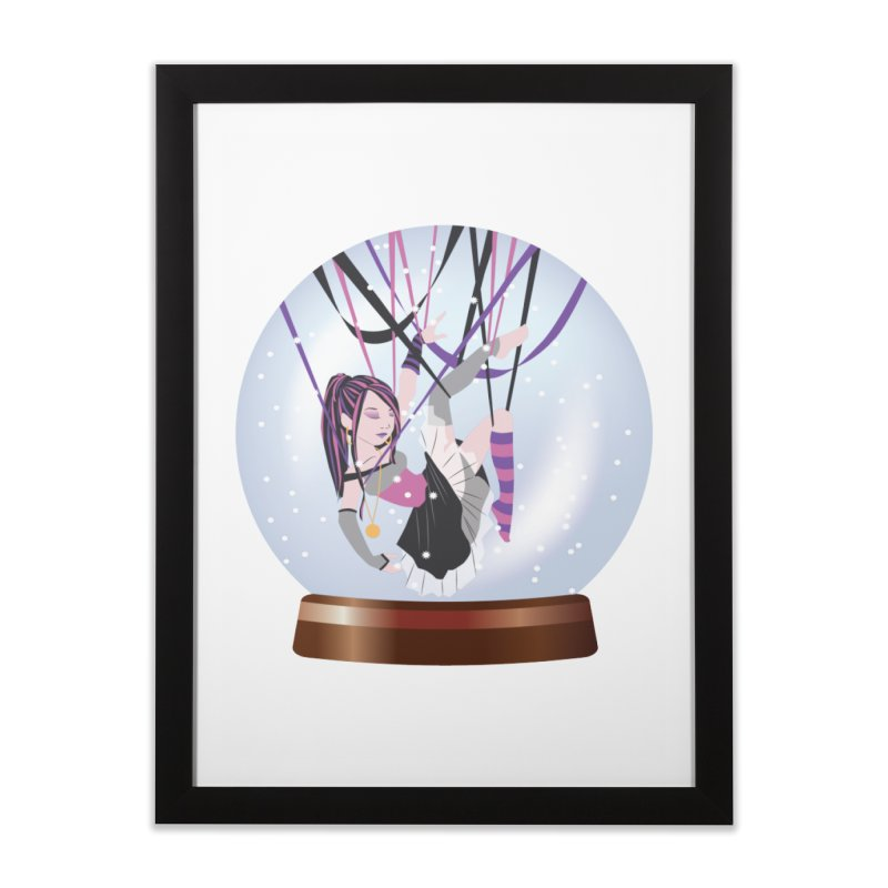 Suspended in Snow Home Framed Fine Art Print by SteampunkEngineer's Shop