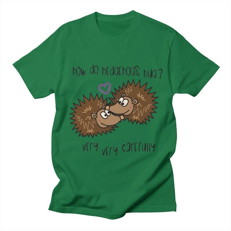 Hugging Hedgehogs Men's T-Shirt by SteampunkEngineer's Shop