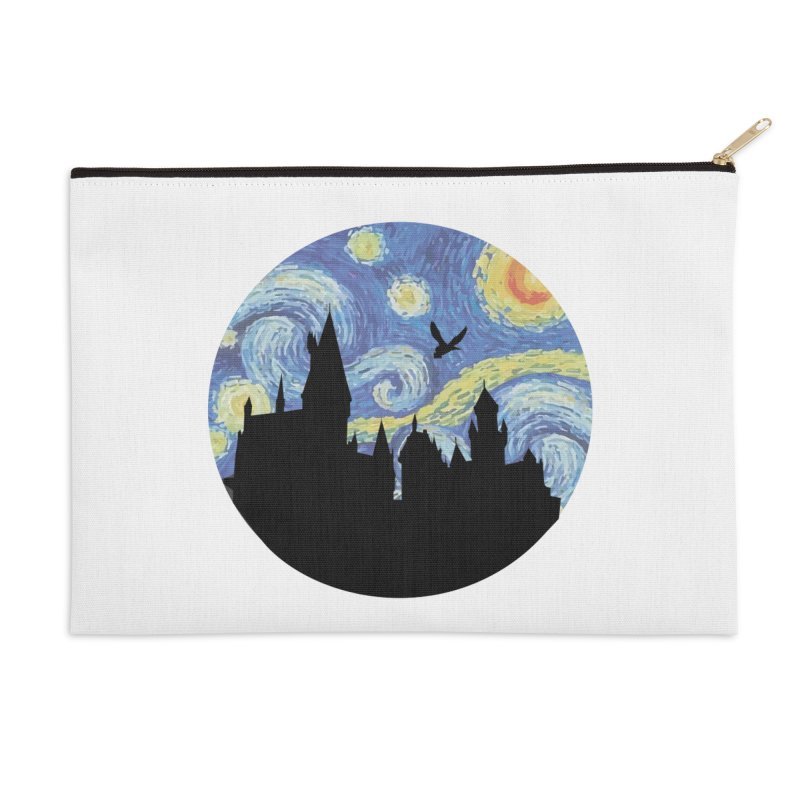 Hogwarts Starry Night Accessories Zip Pouch by SteampunkEngineer's Shop
