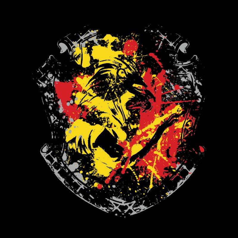 Gryffindor Crest Men's Longsleeve T-Shirt by SteampunkEngineer's Shop