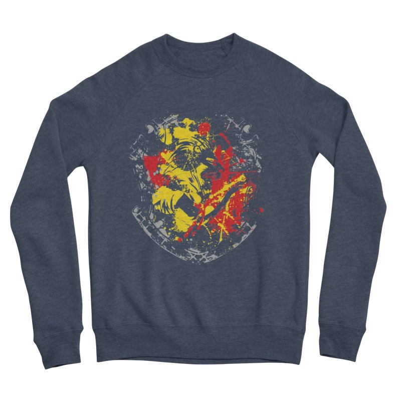 Gryffindor Crest Men's Sponge Fleece Sweatshirt by SteampunkEngineer's Shop