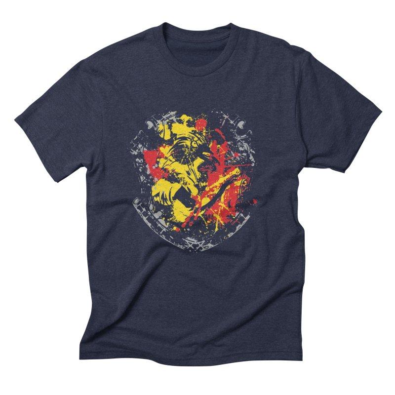 Gryffindor Crest Men's Triblend T-Shirt by SteampunkEngineer's Shop