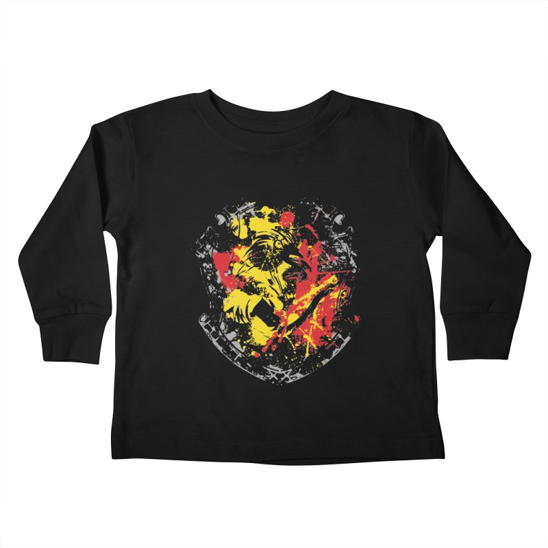 Gryffindor Crest Kids Toddler Longsleeve T-Shirt by SteampunkEngineer's Shop