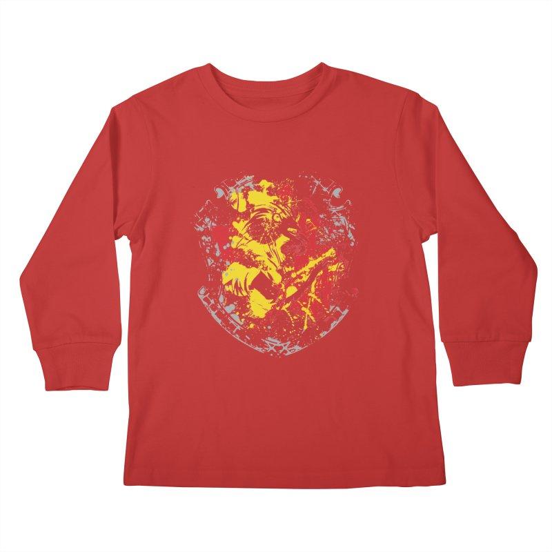 Gryffindor Crest Kids Longsleeve T-Shirt by SteampunkEngineer's Shop