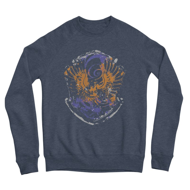 Ravenclaw Crest Men's Sponge Fleece Sweatshirt by SteampunkEngineer's Shop