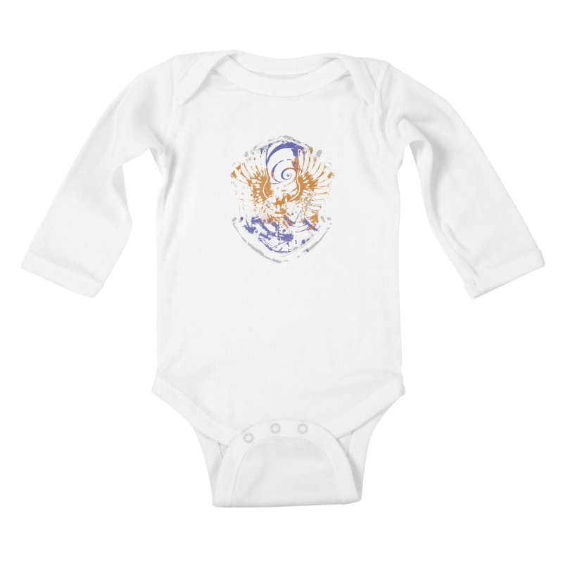 Ravenclaw Crest Kids Baby Longsleeve Bodysuit by SteampunkEngineer's Shop