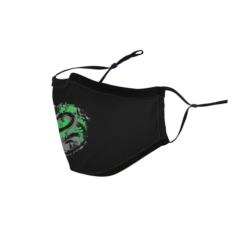 Slytherin's Crest Accessories Face Mask by SteampunkEngineer's Shop