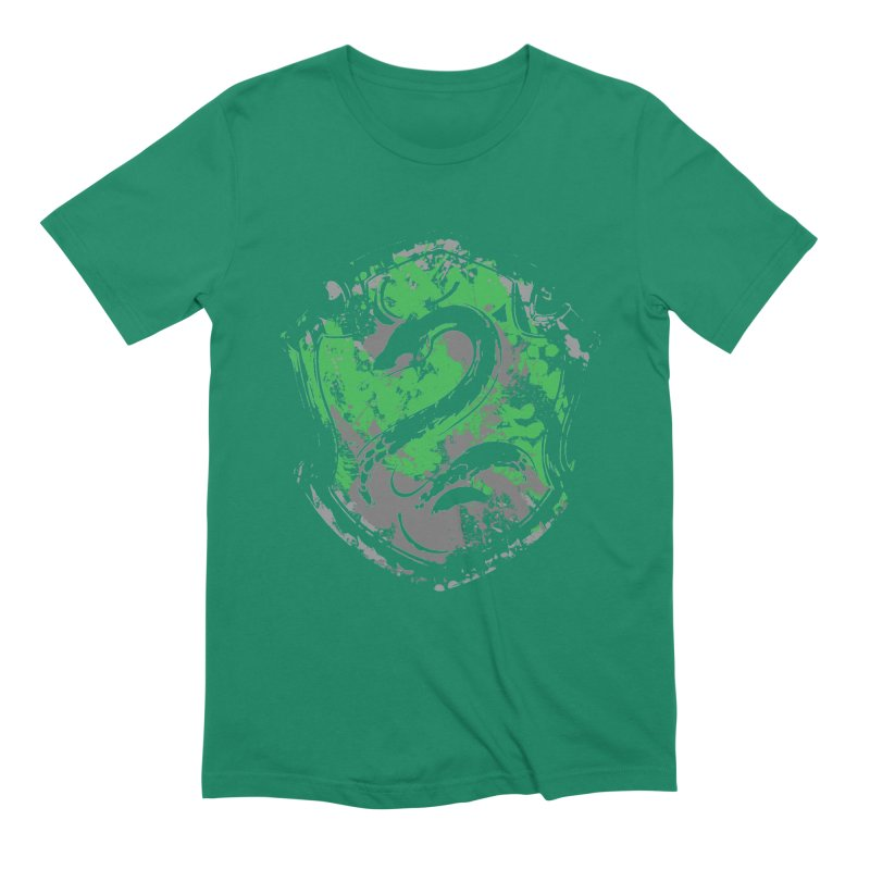 Slytherin's Crest Men's Extra Soft T-Shirt by SteampunkEngineer's Shop
