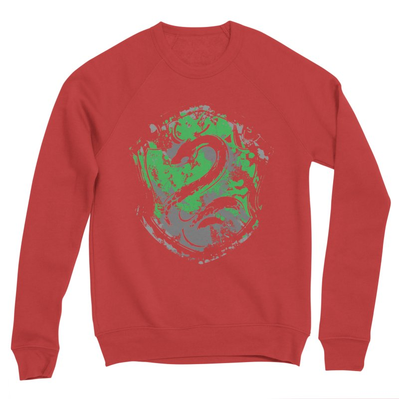 Slytherin's Crest Men's Sweatshirt by SteampunkEngineer's Shop