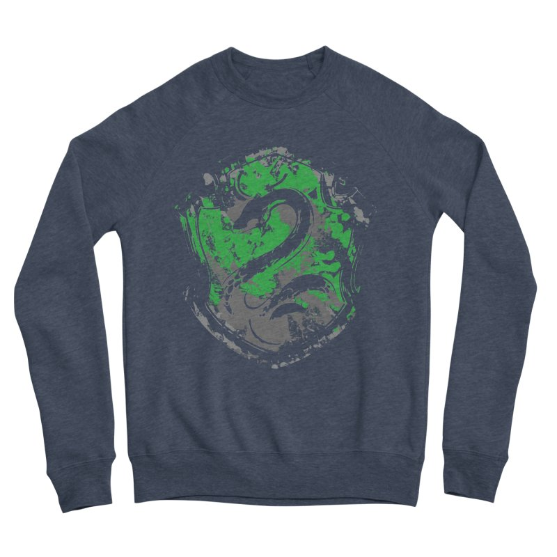 Slytherin's Crest Men's Sponge Fleece Sweatshirt by SteampunkEngineer's Shop