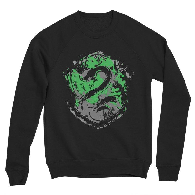 Slytherin's Crest Men's Sponge Fleece Sweatshirt by SteampunkEngineer's Shop