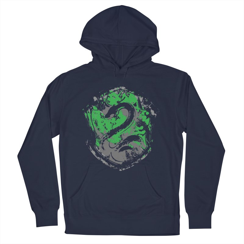 Slytherin's Crest Men's French Terry Pullover Hoody by SteampunkEngineer's Shop