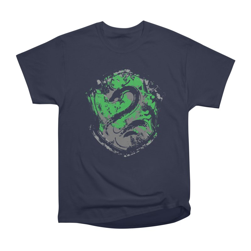 Slytherin's Crest Men's Heavyweight T-Shirt by SteampunkEngineer's Shop