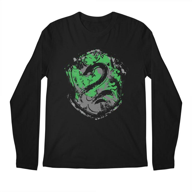 Slytherin's Crest Men's Regular Longsleeve T-Shirt by SteampunkEngineer's Shop