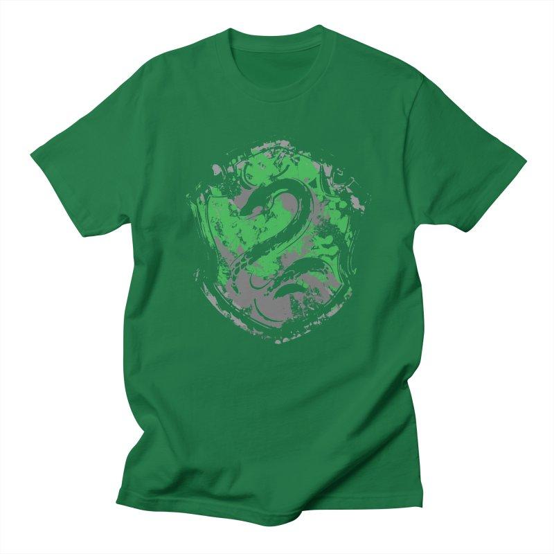 Slytherin's Crest Men's T-Shirt by SteampunkEngineer's Shop