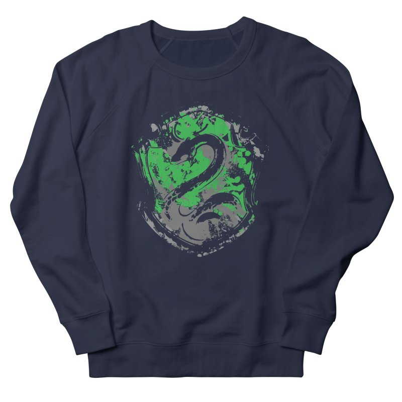 Slytherin's Crest Men's French Terry Sweatshirt by SteampunkEngineer's Shop