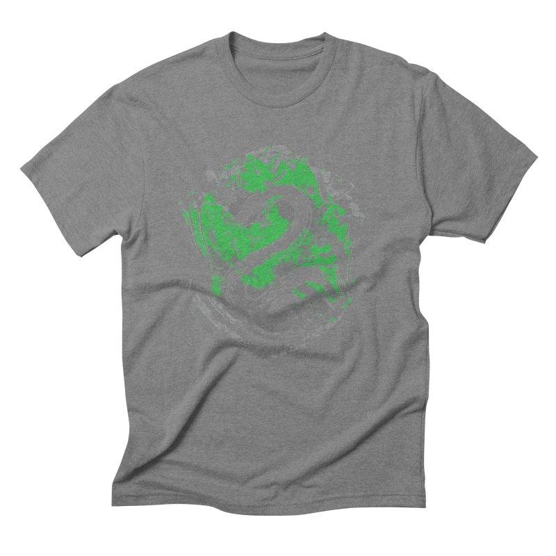 Slytherin's Crest Men's Triblend T-Shirt by SteampunkEngineer's Shop