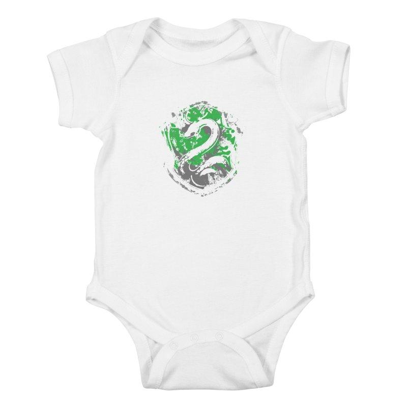 Slytherin's Crest Kids Baby Bodysuit by SteampunkEngineer's Shop