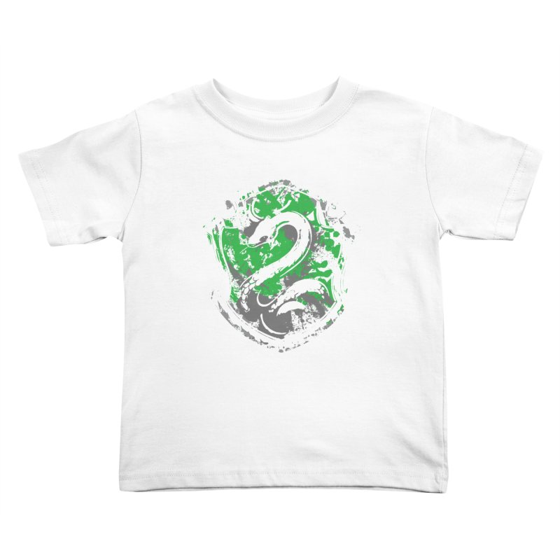 Slytherin's Crest Kids Toddler T-Shirt by SteampunkEngineer's Shop