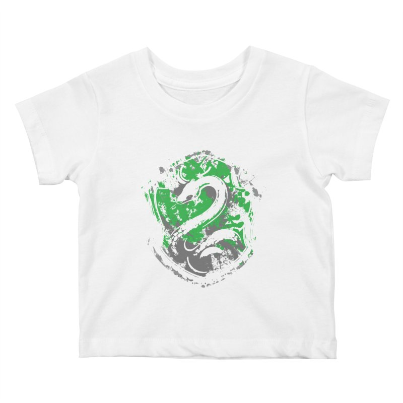 Slytherin's Crest Kids Baby T-Shirt by SteampunkEngineer's Shop