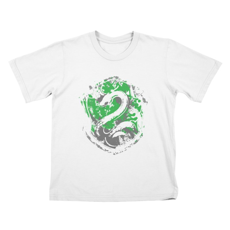 Slytherin's Crest Kids T-Shirt by SteampunkEngineer's Shop