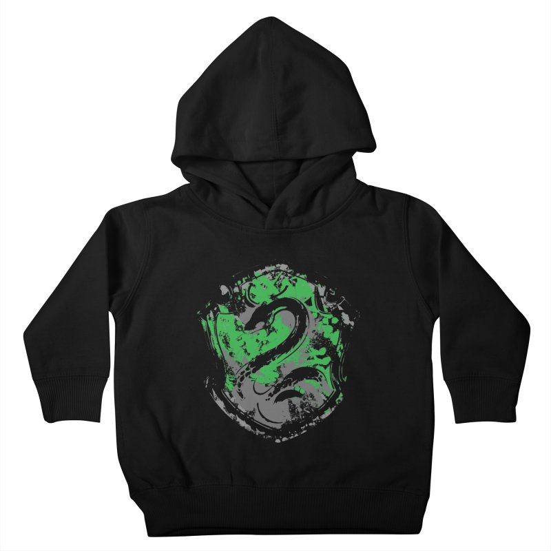 Slytherin's Crest Kids Toddler Pullover Hoody by SteampunkEngineer's Shop