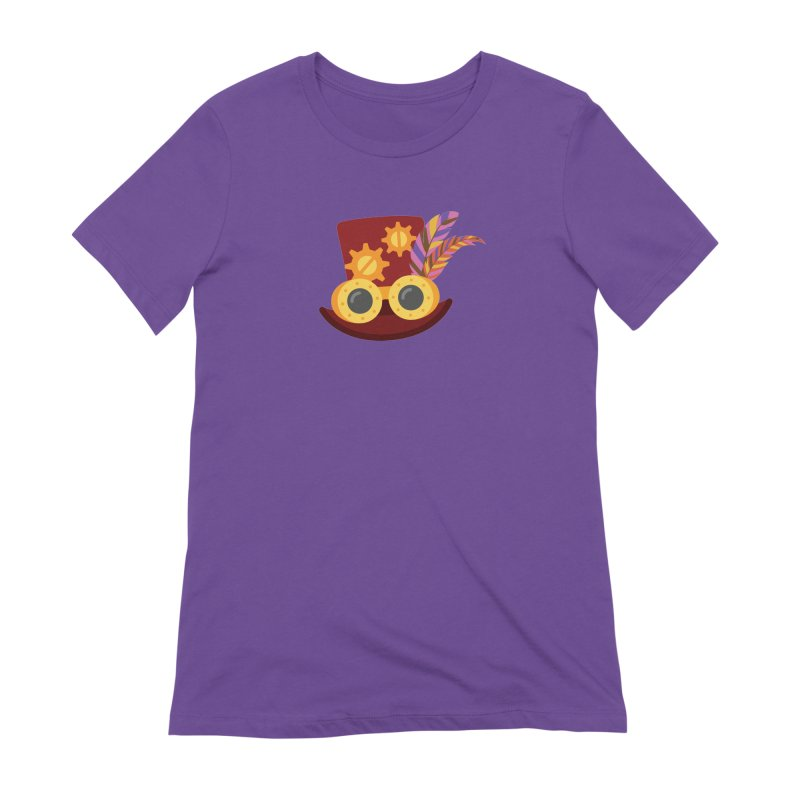 Steampunk Engineer Logo Women's Extra Soft T-Shirt by SteampunkEngineer's Shop