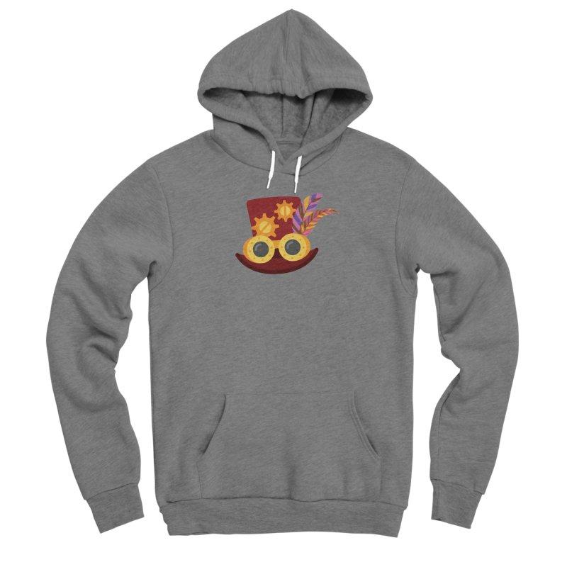Steampunk Engineer Logo Women's Sponge Fleece Pullover Hoody by SteampunkEngineer's Shop