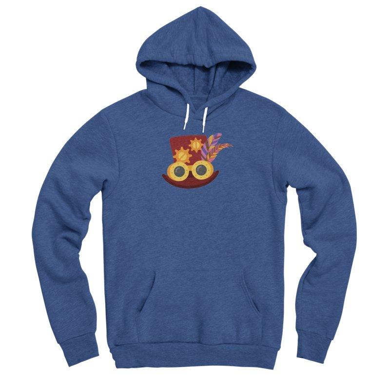 Steampunk Engineer Logo Men's Sponge Fleece Pullover Hoody by SteampunkEngineer's Shop