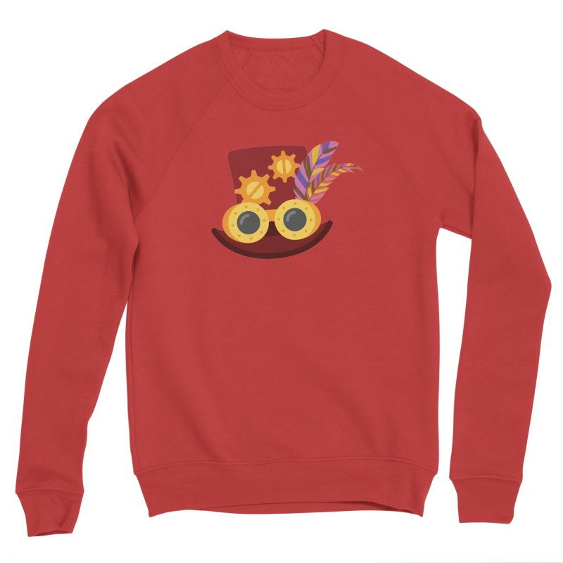 Steampunk Engineer Logo Men's Sponge Fleece Sweatshirt by SteampunkEngineer's Shop