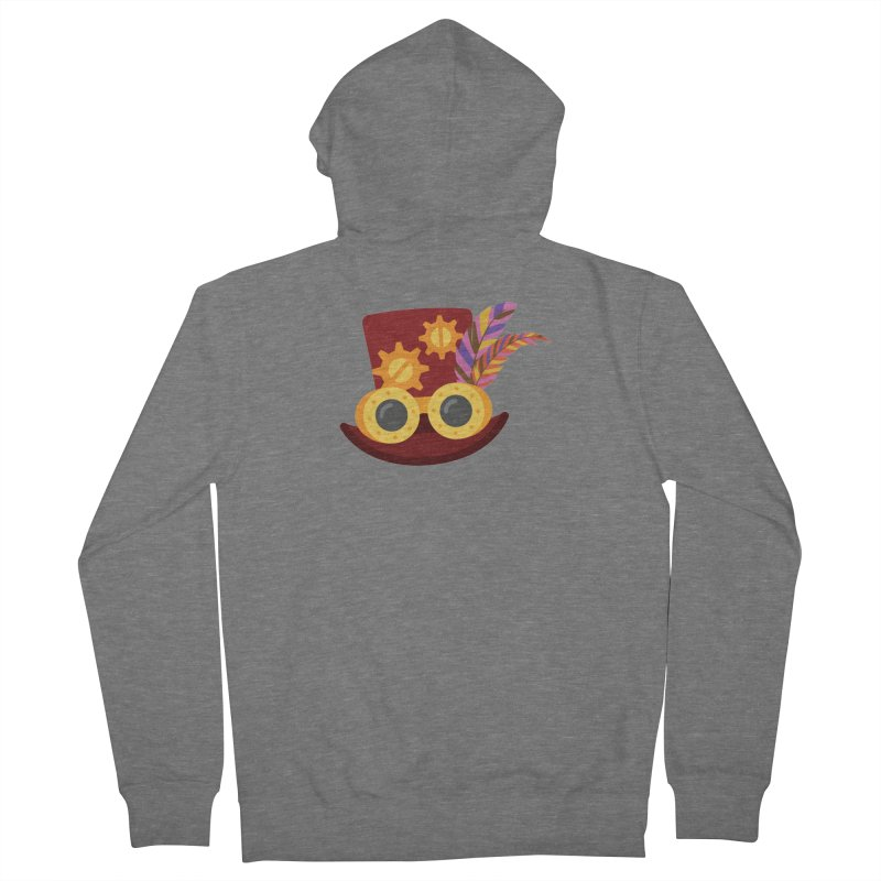 Steampunk Engineer Logo Women's French Terry Zip-Up Hoody by SteampunkEngineer's Shop