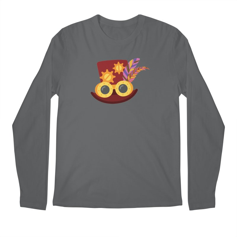Steampunk Engineer Logo Men's Regular Longsleeve T-Shirt by SteampunkEngineer's Shop