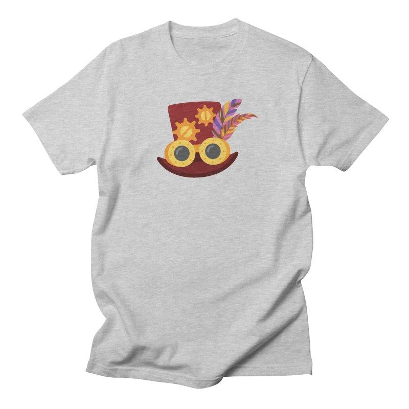 Steampunk Engineer Logo Men's Regular T-Shirt by SteampunkEngineer's Shop