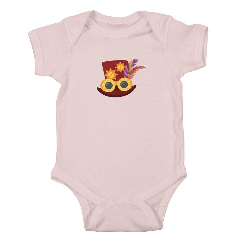 Steampunk Engineer Logo Kids Baby Bodysuit by SteampunkEngineer's Shop