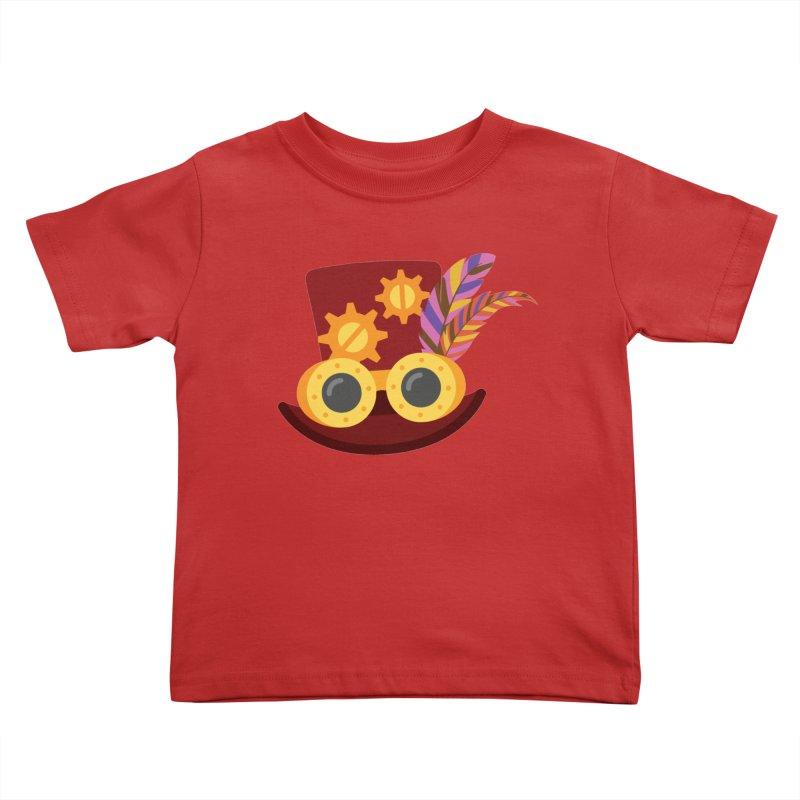 Steampunk Engineer Logo Kids Toddler T-Shirt by SteampunkEngineer's Shop