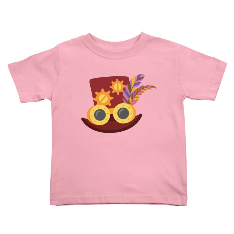 Steampunk Engineer Logo Kids Toddler T-Shirt by SteampunkEngineer's Shop