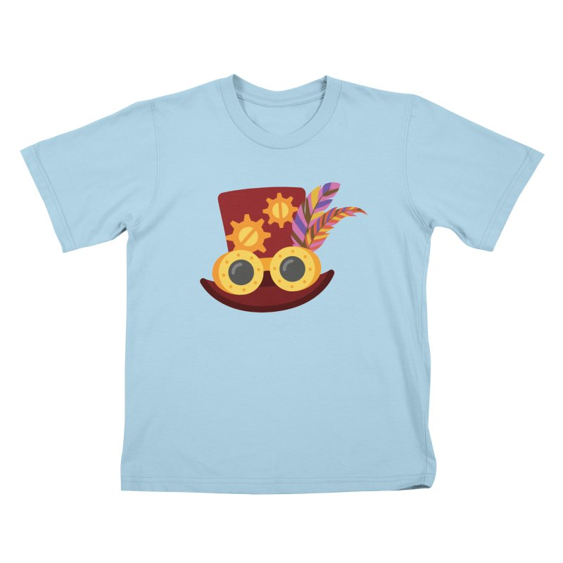 Steampunk Engineer Logo Kids T-Shirt by SteampunkEngineer's Shop