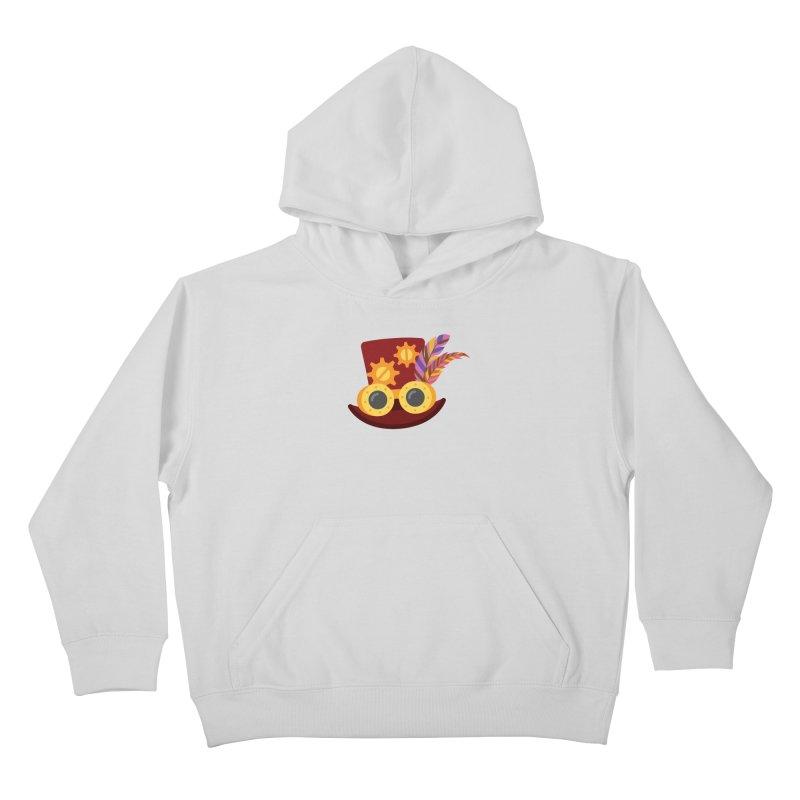 Steampunk Engineer Logo Kids Pullover Hoody by SteampunkEngineer's Shop